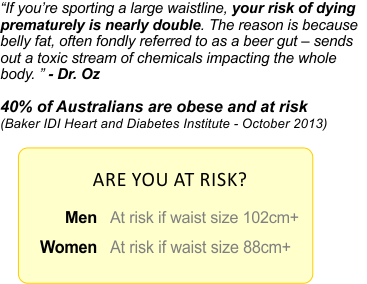 Large waistline health risk